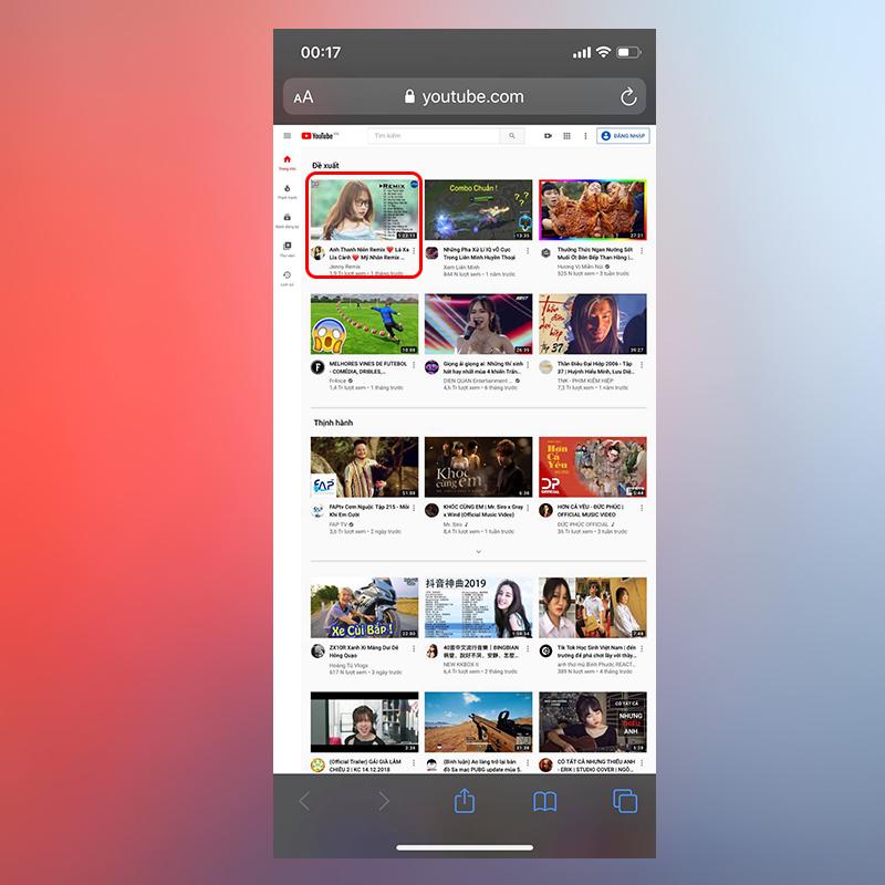 Sforum - Trang thông tin công nghệ mới nhất 1_4 2 cách cực đơn giản giúp nghe nhạc Youtube khi tắt màn hình trên iOS 13