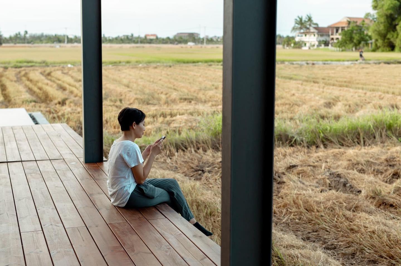 Khi có mảnh đất ở quê, đừng bỏ lỡ cơ hội xây ngôi nhà view cánh đồng lúa đắt giá như thế này - Ảnh 6.