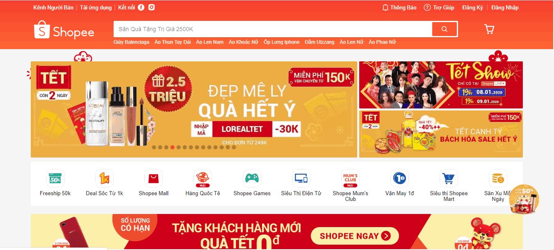 bán hàng online shopee