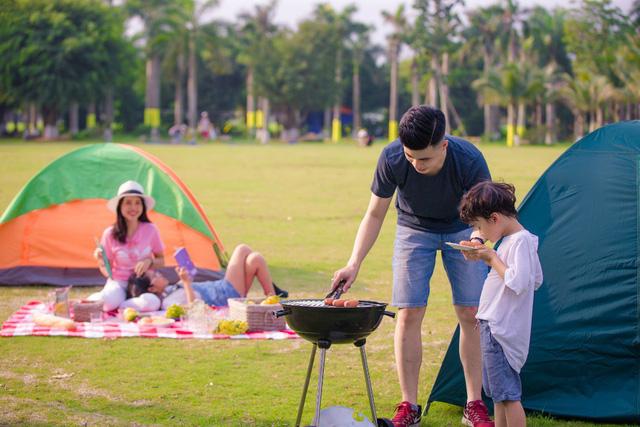 Cắm trại - Hoạt động ngoài trời giúp trẻ phát triển toàn diện