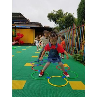 Nhảy lò cò - Trò chơi dân gian dành cho bé
